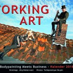 Bodypainting meets business Working Art