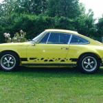 historische Porsche-Fahrzeuge