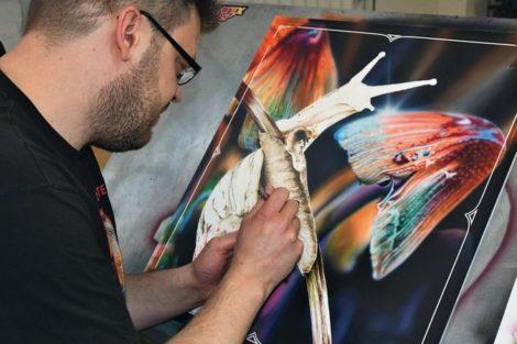 Airbrush-Artist Marcus Eisenhuth