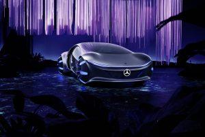 """Mercedes-Benz_VISION_AVTR_-_inspiriert_von_""""Avatar"""":_Der_Name_des_Konzeptfahrzeugs_steht_für_ADVANCED_VEHICLE_TRANSFORMATION_und_verkörpert_die_Vision_von_Mercedes-Benz_Designern,_Ingenieuren_und_Trendforschern_für_Mobilität_in_ferner_Zukunft.___Mercedes-"""