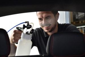 Fahrzeugdesinfektion durch Kaltvernebelung mit Biocleen