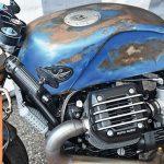 Motorradlackierung Vintage-Design beim Glemseck