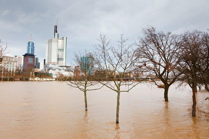 Foto: Clipdealer. Frankfurt am Main Hochwasser