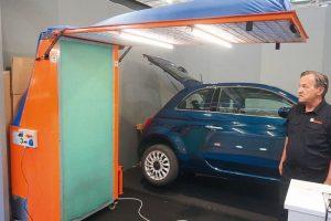 Smart-Repair: Mobile Kabine von Ikotec