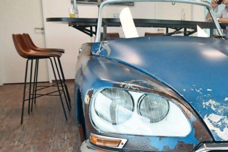 Citroën DS wird zum Automöbel