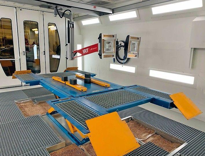 OMIA Lackieranlagen: Neue Kabine für Smart-Repair