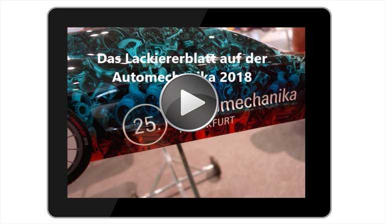 Lackiererblatt Automechanika 2018