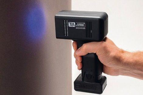 UV-Trocknung Akkulampe von TLA-Technik