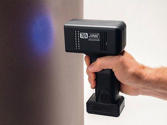 UV-Trocknung: Neue Akkulampe von TLA-Technik