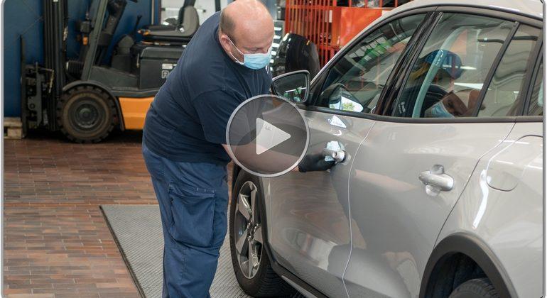 Video ZKF Fahrzeugdesinfektion