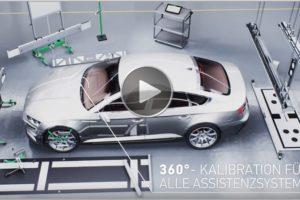 360°-Kalibration für Fahrerassitenzsysteme