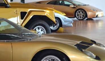 Am Anfang der Reise stand der Besuch bei Lamborghini.
