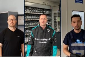 Axalta-Marken. Trainingsleiter Spies Hecker, Chromax, Standox